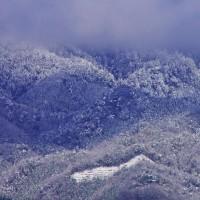 比叡山の雪