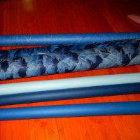 和紙で織るタペストリー