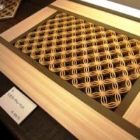 <建具職人・和田奈良一さん> 吉野町「三奇楼」で一周忌の回顧展