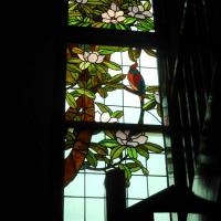 ステンドグラスなど@川越:旧山崎邸別邸