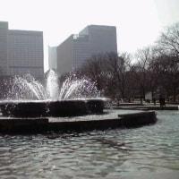 噴 水 の あ る 風 景