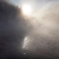 由布院温泉12月の朝・・・金鱗湖(その3)
