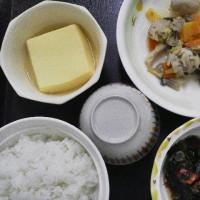 栄養科特製、本日の夕食(常食)
