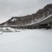 冬の石狩川河岸を遡る 21 後編