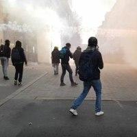 仏人のいない暴動、大荒れの仏ナント