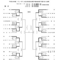 h28春高予選 男子第1日目の結果