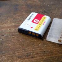 デジカメのバッテリを外部電池にしようとしたけどダメだった