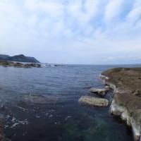 カシマ前ビーチ透明度20m!!最高に青い海でしたー