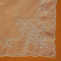 ハンカチコレクションから汕頭刺繍