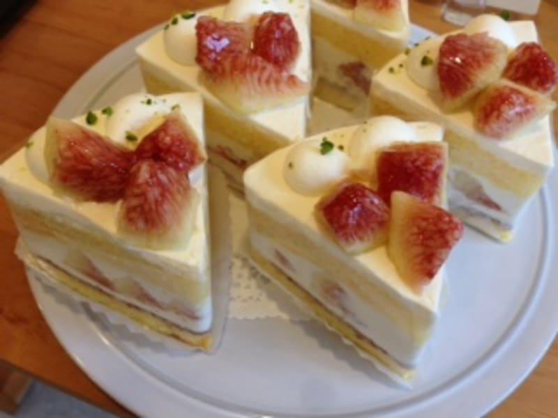 「いちじくのショートケーキ」