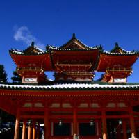 雪の平安神宮