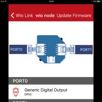 Pythonista(iOS上で動くPython)でWio Nodeを動かしてみた。