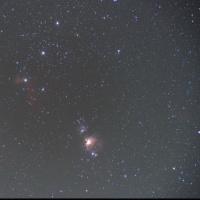 16/12/02  県民の森「冬の陣」  part8  「オリオン座の三ツ星 と オリオン大星雲を撮ったけど…。」
