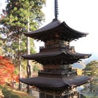 長野県の国宝  青木村 大法寺