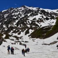 白馬岳山開き、岩岳星空観察会