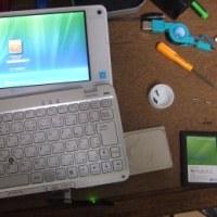 VAIO type P(店頭モデル)のHDDをSSDに換装する!(1)