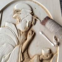 美人画を彫るNO10