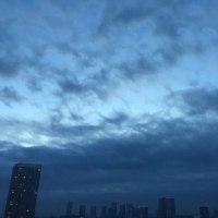 12/5の朝の空