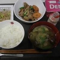 朝から生姜焼きでガッツリ和風な朝食!