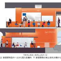 【3/10】小田急電鉄、特急ロマンスカーの新宿駅地上ホームに「ロマンスカーカフェ」をオープン