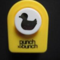 カモ、アヒル(ダック)のクラフトパンチはパンチバンチ・ Duck<shopWA・ON>