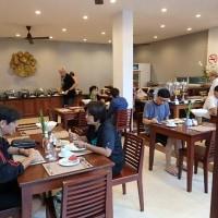 タイ・ラオス(ビエンチャン)渡航記(ホテル(大満足の朝食))