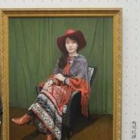 肖像画の除幕式