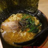 可部線に乗ってから広島風横浜家系ラーメンを食べる