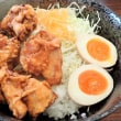 Bakamori-Don, deep-fried chicken rice bowl at Lunch