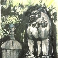 上野の狛犬