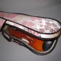 西陣帆布でおしゃれなバイオリンケース!