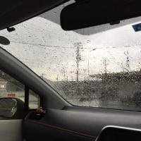 3月28日、午後には雷と大雨に