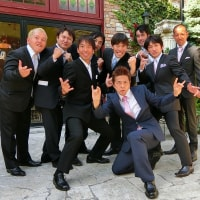 後輩スタントマンの結婚式!