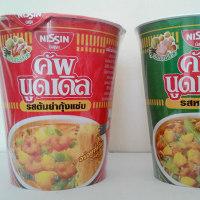 タイのカップヌードルは延びない