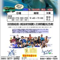 冬休み短期水泳教室のお知らせ
