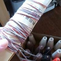 糸紡ぎ名人を目指す