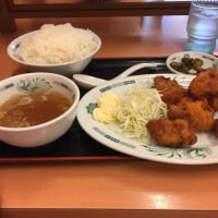 【食録】日高屋唐揚げ定食