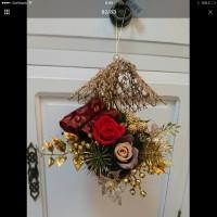 クリスマスアレンジ「咲くやこの花館」でプリザーブドフラワー体験講習!