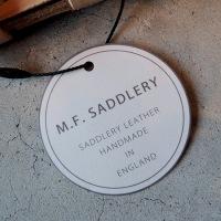 M.F.SADDLERY WEST END BUCKLE BELT