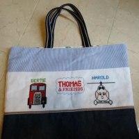 きかんしゃトーマスの絵本バッグ