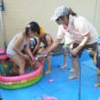 みんな大好き!水遊び!