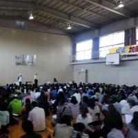 平成29年度加須ジュニア陸上教室開講式