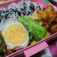 天ぷら弁当と、昨夜のドラマ