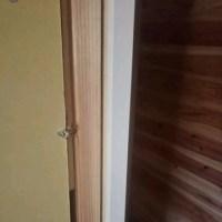 ドア付けました。