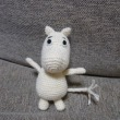 ムーミンの編みぐるみ