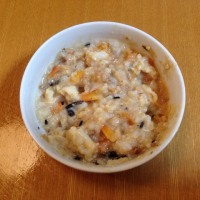 今日の離乳食(晩御飯)【105日目】