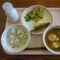 健康づくりレシピコンテストメニュー給食