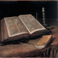 彼とともに生きる。主イエス・キリストの御名によって。アーメン。(新約聖書)
