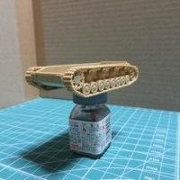 ドイツIV号戦車H型(1/72)を作る