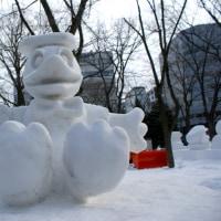 17年 さっぽろ雪まつり 雪像2    <写真18枚>